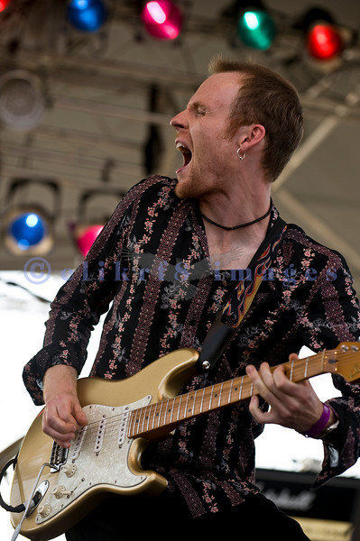 """The Winthrop Blues ranch hosted the 40th Anniversary of Woodstock aka Heroes of Woodstock in August, 2009. Joe Gooch, the only """"new"""" member plays lead guitar and does vocals for Ten years After."""