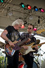 The Winthrop Blues ranch hosted the 40th Anniversary of Woodstock aka Heroes of Woodstock in August, 2009. Leo Lyons, bass player for Ten Years After never quit smiling. He shares the stage with lead guitar player and vocalist Joe Gooch.