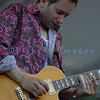 Shaun Perrault of the Canadian rock band Wide Mouth Mason performs at the Mt. Baker Blues Festival in 2006.