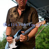 Paul Nelson sharing the stage at the Mt. Baker Blues Festival with Johnny Winter. Paul, a solo as well as tour and studio guitarist, is also Johnny's manager.