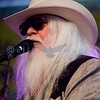 Leon Russell and his band at the Mt. Baker Blues Festival on Saturday night July 31.