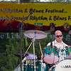 The Fat Tones from the Spokane/Boise area are the house band at the Mt. Baker Blues Festival. Zach Cooper on drums.