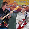 The Fat Tones from the Spokane/Boise area are the house band at the Mt. baker Blues Festival. Bobby Patterson on guitar and Bob Ehrgott on bass.