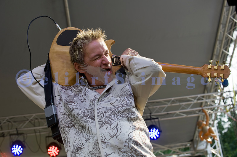The Fat Tones from the Spokane/Boise area are the house band at the Mt. baker Blues Festival. Bobby Patterson on guitar.