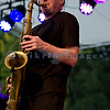 The Chris Eger Band from Skagit County perform at the 16th annual Mt. Baker Rhythm and Blues Festival on Friday, July 29, 2011. Saxophone: John Anderson