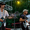 The Chris Eger Band from Skagit County perform at the 16th annual Mt. Baker Rhythm and Blues Festival on Friday, July 29, 2011. Chris Eger, guitar and vocals and randy Eger, bass guitar and backing vocals