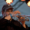 The Chris Eger Band from Skagit County perform at the 16th annual Mt. Baker Rhythm and Blues Festival on Friday, July 29, 2011. Trumpet: Pete Kirkman