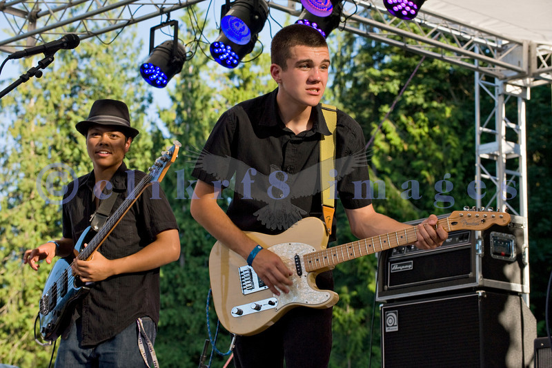Jesse James and the MOB (Men in Black) perform at the 16th annual Mt. Baker Rhythm and Blues Festival on Friday, July 29, 2011.