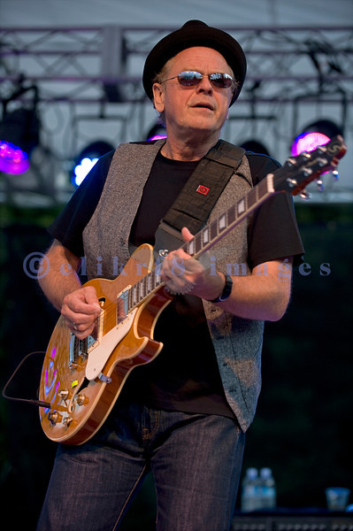 "The Average White Band, whose hits include ""Pick Up The Pieces"", headlined Saturday night, July 30, 2011 at the Mt. Baker Rhythm and Blues Festival. Alan Gorrie, rhythm guitar"