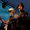 """The Average White Band, whose hits include """"Pick Up The Pieces"""", headlined Saturday night, July 30, 2011 at the Mt. Baker Rhythm and Blues Festival. Onnie McIntyre, guitar; Fred """"Freddy V"""" Vigdor, saxophone"""