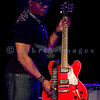 """The Average White Band, whose hits include """"Pick Up The Pieces"""", headlined Saturday night, July 30, 2011 at the Mt. Baker Rhythm and Blues Festival. Klyde Jones, rhythm guitar and vocals"""
