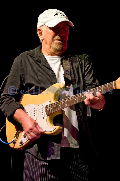 """The Average White Band, whose hits include """"Pick Up The Pieces"""", headlined Saturday night, July 30, 2011 at the Mt. Baker Rhythm and Blues Festival. Onnie McIntyre, guitarist"""