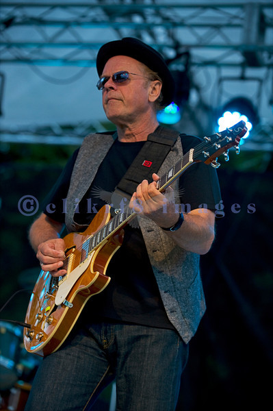 """The Average White Band, whose hits include """"Pick Up The Pieces"""", headlined Saturday night, July 30, 2011 at the Mt. Baker Rhythm and Blues Festival. Alan Gorrie, rhythm guitar"""