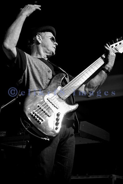 """The Average White Band, whose hits include """"Pick Up The Pieces"""", headlined Saturday night, July 30, 2011 at the Mt. Baker Rhythm and Blues Festival. Onnie McIntyre, guitar; Alan Gorrie, rhythm guitar"""