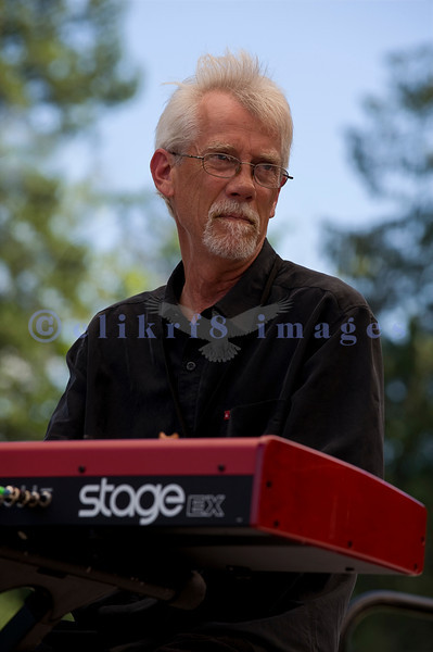 C D Woodbury Band awarded the 2010 Washington Blues Society Best New Band Award, played Saturday afternoon, July 30, 2011 at the 16th annual Mt. Baker Rhythm and Blues Festival  at the Deming Log Show grounds near Deming, Washington.Chris Kliemann, keyboards