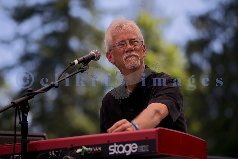 C D Woodbury Band awarded the 2010 Washington Blues Society Best New Band Award, played Saturday afternoon, July 30, 2011 at the 16th annual Mt. Baker Rhythm and Blues Festival  at the Deming Log Show grounds near Deming, Washington. Chris Kliemann, keyboards