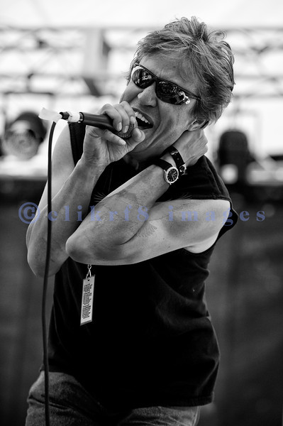 The Fat Tones from Spokane, Washington perform at the Mt. Baker Rhythm and Blues Festival on Saturday, July 30, 2011. David Christensen: keyboards and vocals