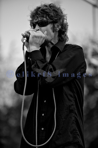 The Fat Tones from Spokane, Washington perform at the Mt. Baker Rhythm and Blues Festival on Saturday, July 30, 2011. Jess Coons: harmonica