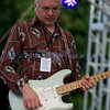 The Curtis Salgado Band, whose namesake survived cancer, performed with a full ensemble at the Mt. Baker Rhythm and Blues Festival in Deming, Washington. Franck Goldwaser: guitar