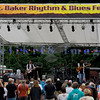 The Fat James Band, legendary Pacific Northwest Washington blues band, reunited with the entire original members for the crowd on Sunday, July 31. Tracy Arrington bass; Chip Hart, drums; Dave Cashin, keyboards; Fat James, electric guitar and vocals