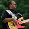The Fat James Band, legendary Pacific Northwest Washington blues band, reunited with the entire original members for the crowd on Sunday, July 31. Tracy Arrington, bass