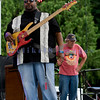 The Fat James Band, legendary Pacific Northwest Washington blues band, reunited with the entire original members for the crowd on Sunday, July 31. Tracy Arrington, bass guitar