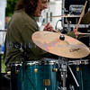 The Fat James Band, legendary Pacific Northwest Washington blues band, reunited with the entire original members for the crowd on Sunday, July 31. Chip hart, drums