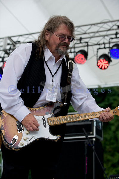 The Fat James Band, legendary Pacific Northwest Washington blues band, reunited with the entire original members for the crowd on Sunday, July 31. Fat James, electric guitar and vocals