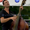 Multiple nominees of the Canada's Maple Award for individual blues musicians, The Twisters entertained the appreciative audience  on Sunday afternoon, July 31, 2011. Keith Picot, stand up bass