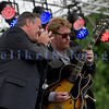 "Multiple nominees of the Canada's Maple Award for individual blues musicians, The Twisters entertained the appreciative audience  on Sunday afternoon, July 31, 2011. Dave ""Hurricane Dave"" Hoerl, harmonica and vocals; Brandon Isaak, electric guitar and vocals"
