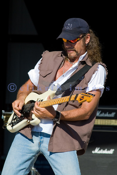 "Michael Monarch, original lead guitar for Steppenwolf is probably playing the guitar riffs in ""Born To Be Wild"" for the World Classic Rockers at the Chippewa Valley Rock Festival."
