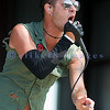 Ligion, vocalist of the band of the same name, on stage at the 2008 Chippewa Valley Rock Festival in Cadott, Wisconsin.