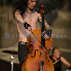 Apocalyptica, a Finnish band featuring drummer plus 3 classically trained cello players mesmerized the audience at the Chippewa Valley Rock Festival on Thursday July 15.