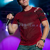 Three Doors Down, the closing act on Friday night at the Chippewa Valley Rock Festival, fronted by Brad Arnold.