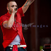 On Saturday afternoon, July 17, Blue October performed at the Chippewa Valley Rock Festival.