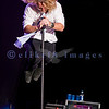 Collective Soul's set late Saturday night was cut short due to strong rain and wind predictions.