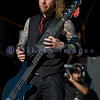 Drowning Pool was one of the last bands to appear on stage on Sunday, July 18at the Chippewa Valley Rock Festival.