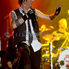 Three Days Grace, a Canadian band and Billboard's 2007 Top Artist of the Year among other honors, rocked the crowd Thursday at the Chippewa Valley Rock Festival in Cadot, WI. Adam Gauntier, lead vocals and rhythm guitar; Neil Sanderson, drums