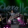 """Cinderella, whose hits include """"Nobody's Fool"""" and """"Don't Know What You Got (Till It's Gone)"""", put on an energetic show at the Chippewa Valley Rock Festival in Cadot, WI. Tom Keifer, vocals and guitar; Jeff LaBar, lead guitar; Eric Brittingham, bass guitar; Fred Coury, bass guitar"""