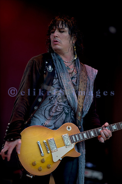 "Cinderella, whose hits include ""Nobody's Fool"" and ""Don't Know What You Got (Till It's Gone)"", put on an energetic show at the Chippewa Valley Rock Festival in Cadot, WI. Tom Keifer, vocals and guitar"