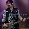 "Cinderella, whose hits include ""Nobody's Fool"" and ""Don't Know What You Got (Till It's Gone)"", put on an energetic show at the Chippewa Valley Rock Festival in Cadot, WI. Eric Brittingham, bass guitar"