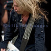 "Slaughter, glam rock band from the 80s, started the national act lineup Thursday at the Chippewa Valley Rock Festival in Cadot, WI. Jeff ""Blando"" Bland, guitar"