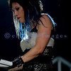 Back for a second year in a row, Christian rock band Skillet, was again a crowd favorite with their stage show of moving pedestals, pyros, and talented musicians at the Chippewa Valley Rock Festival in Cadot, WI. Korey Cooper, keyboards