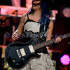 Back for a second year in a row, Christian rock band Skillet, was again a crowd favorite with their stage show of moving pedestals, pyros, and talented musicians at the Chippewa Valley Rock Festival in Cadot, WI. Korey Cooper, rhythm guitar