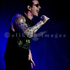 Avenged Sevenfold, aka A7X, heavy metal musicians voted second on Ultimate Guitar's Top Ten Bands of the Decade (2000-2010), closed out Saturday night like a band of their caliber should. M. Shadows, lead vocals