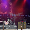 Alternative metal rock trio Chevelle from the Chicago area were in the middle of the pack on Saturday's lineup at the Chippewa Valley Rock Festival in Cadot, WI. Sam Loeffler, drums; Pete Loeffler, lead guitar and vocals; Dean Bernardini, bass