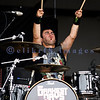My Darkest Days, discovered by Chad Kroeger of Nickelback started Saturday's entertainment at the Chippewa Valley Rock Festival in Cadot. Doug Oliver, drummer