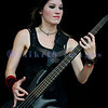 The Sick Puppies, an Australian rock trio, had some of the better rapport with the crowd on Saturday at the Chippewa Valley Rock Festival. Emma Anzai, bass guitar and backing vocal