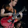 The Sick Puppies, an Australian rock trio, had some of the better rapport with the crowd on Saturday at the Chippewa Valley Rock Festival. Shimon Moore, lead vocals and guitar