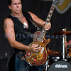 Chainsaw wielding Jackyl frontman Jesse James Dupree reprised his role from several years ago at the Chippewa Valley Rock Festival in Cadot, WI. Jeff Worley, lead guitar